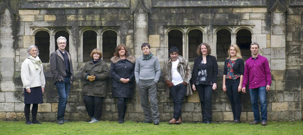 From left: Sally Greaves-Lord, Damian Murphy, Janet Hodgson, Susanne Davies, John Wedgwood Clarke, Jacques Nimki, Karen Thompson, Anna Heinrich, Leon Palmer. 23 January 2014