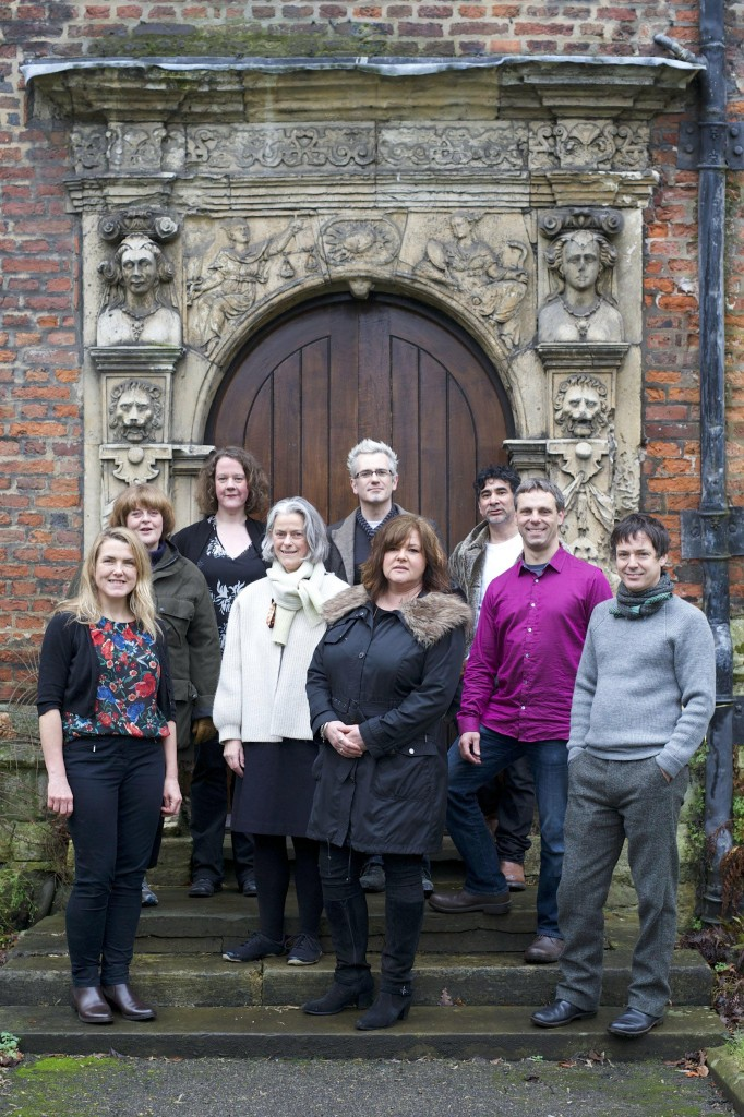 From left: Anna Heinrich, Janet Hodgson, Karen Thompson, Sally Greaves-Lord, Damian Murphy,  Susanne Davies, Jacques Nimki, Leon Palmer, John Wedgwood Clarke. 23 January 2014