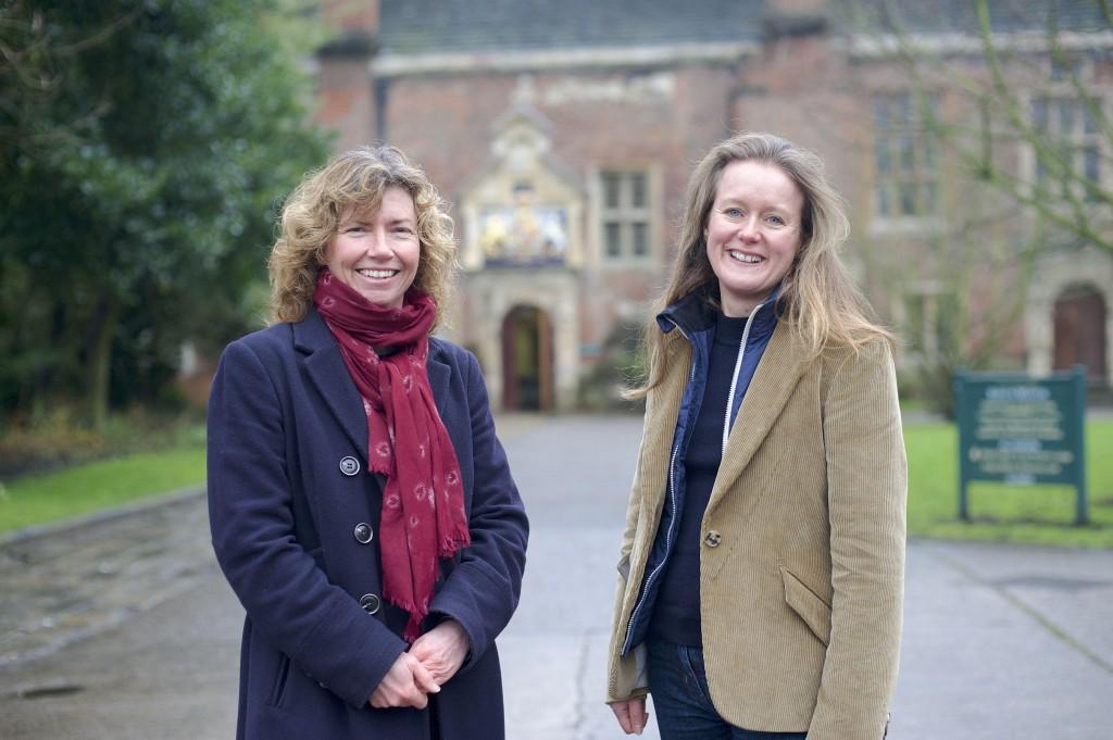 Hazel Colquhoun (left) and Lara Goodband. 23 January 2014