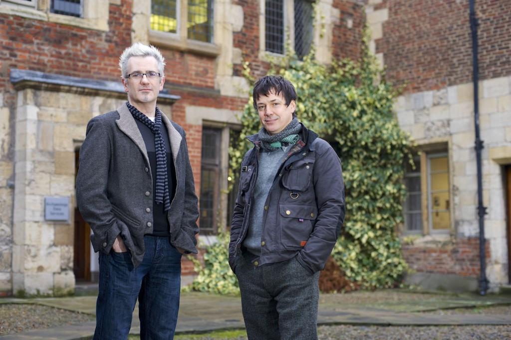 Damian Murphy (left) and John Wedgwood Clarke. 23 January 2014