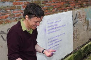 John Wedgwood Clarke - poetry reading-creative writing workshop